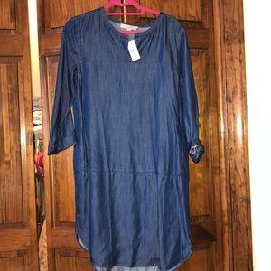 Ann Taylor Loft Jean Dress NWT